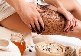 coffee ground wraps to get rid of cellulite